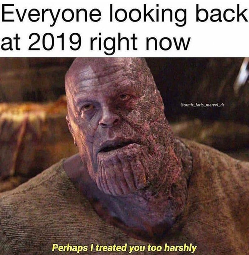 The worst year ever
