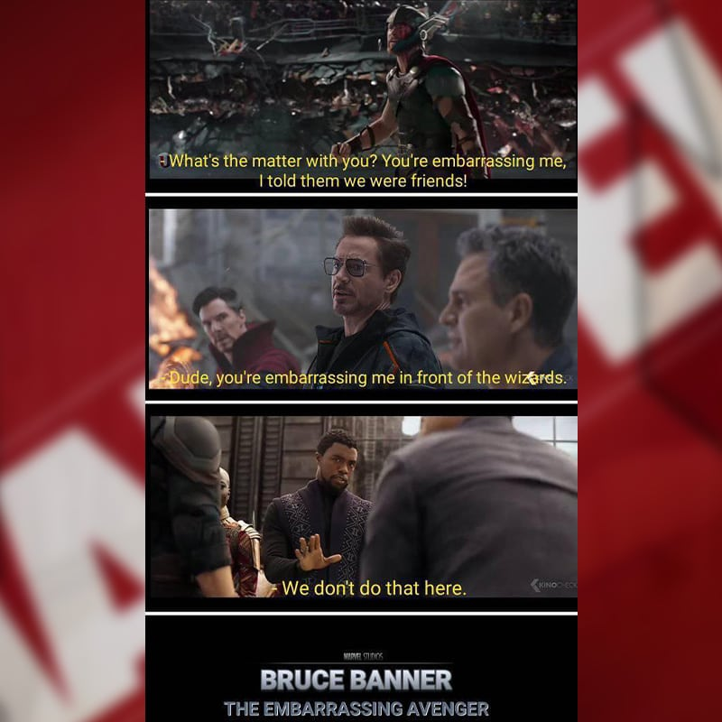 The embarrassing Avenger