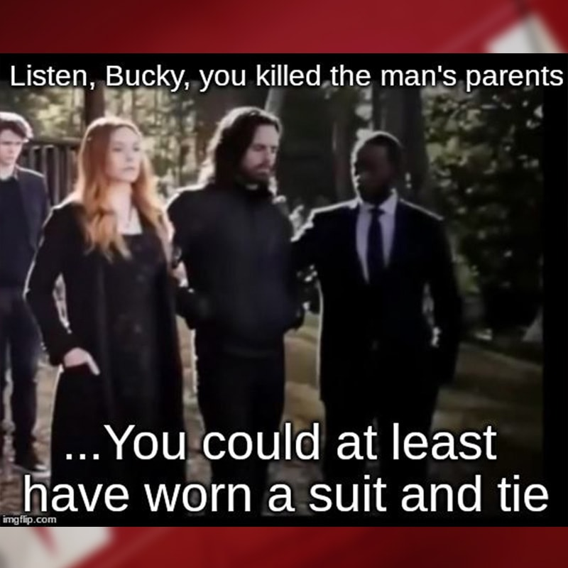 No respect from Bucky